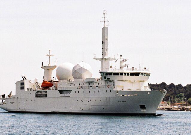 Dupuy de Lome, buque de inteligencia de la Armada de Francia