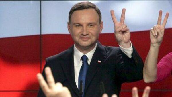 Andrzej Duda, el presidente de Polonia - Sputnik Mundo