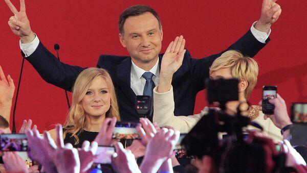 Andrzej Duda, presidente electo de Polonia - Sputnik Mundo