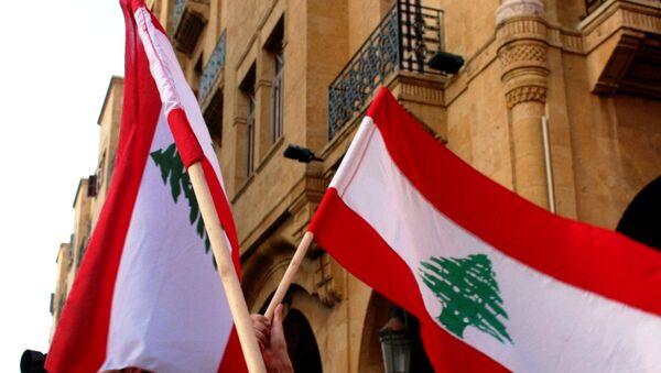 Banderas de Líbano - Sputnik Mundo