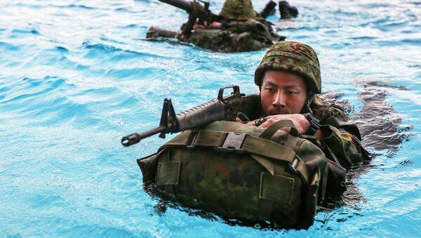 Militar japonés - Sputnik Mundo
