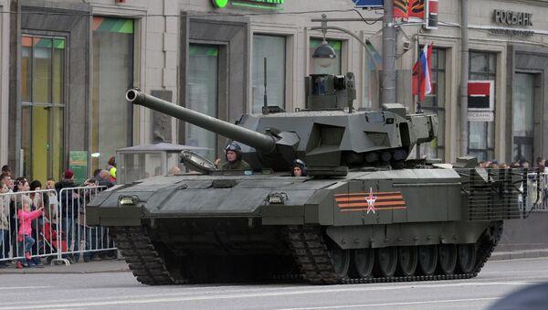 Carro de combate Armata (T-14) - Sputnik Mundo