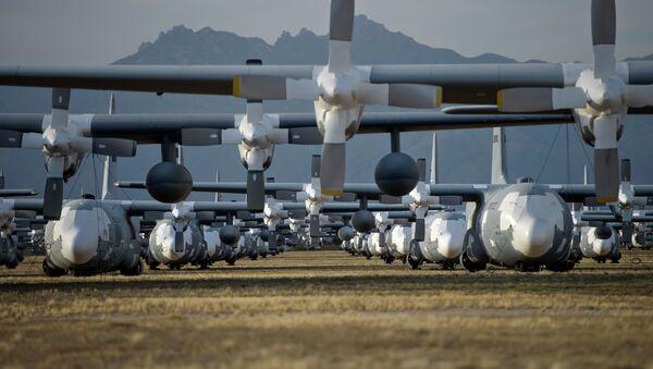 La base de la Fuerza Aérea estadounidense Davis-Monthan - Sputnik Mundo