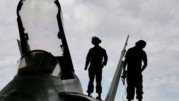 Aeródromo militar de EEUU (Archivo) - Sputnik Mundo