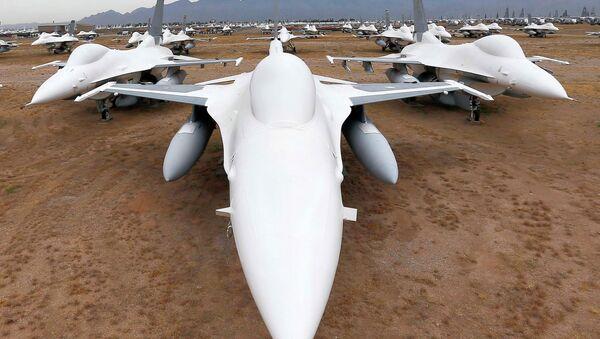 El mayor cementerio de aviones - Sputnik Mundo