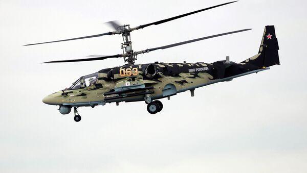 Helicóptero Ka-52 Alligator - Sputnik Mundo