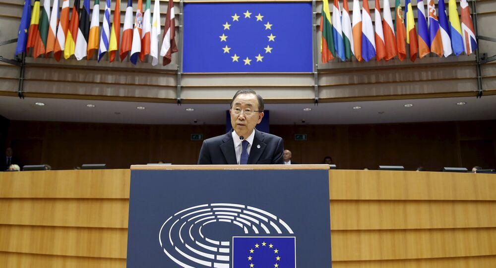 Ban Ki-moon, secretario general de la ONU