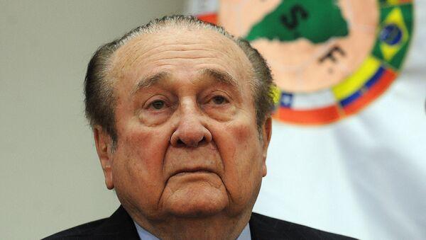 Nicolás Leoz, presidente de la Conmebol - Sputnik Mundo