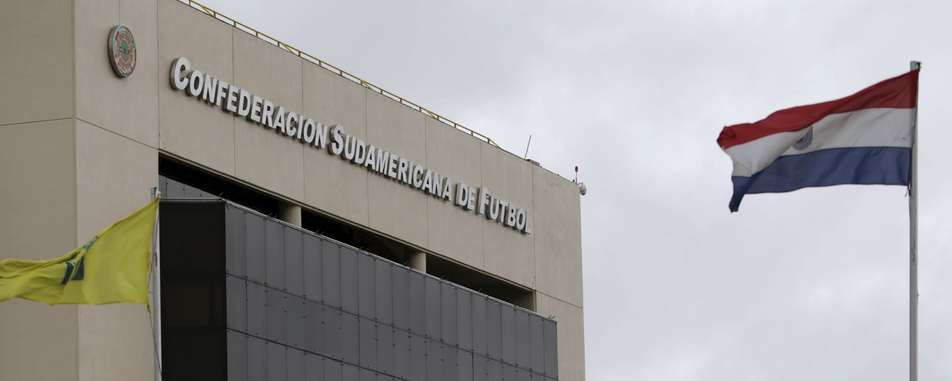 The headquarters of South America's soccer confederation, CONMEBOL, is seen in Luque on the outskirts of Asuncion - Sputnik Mundo, 1920, 06.05.2021