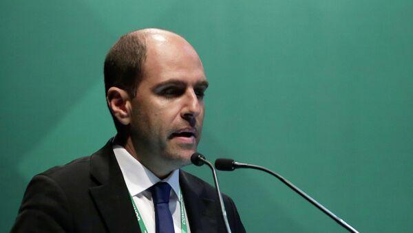 Sergio Jadue, presidente de la Asociación Nacional de Fútbol Profesional de Chile - Sputnik Mundo