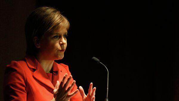 Nicola Sturgeon, ministra principal del Gobierno de Escocia - Sputnik Mundo