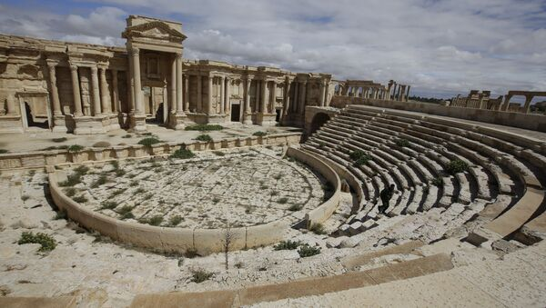 Ciudad  de Palmira antes de la conquista por EI (archivo) - Sputnik Mundo