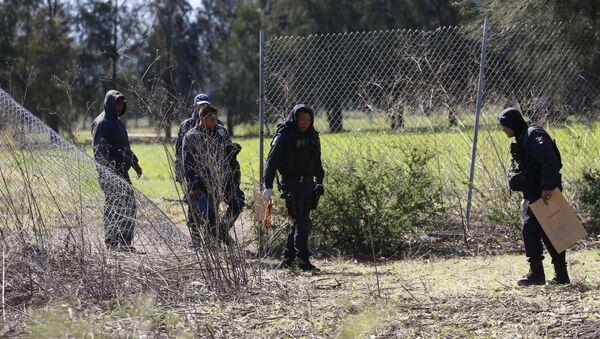 Policías mexicanos en Michoacán - Sputnik Mundo