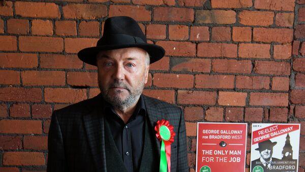 George Galloway, líder del partido Respect - Sputnik Mundo