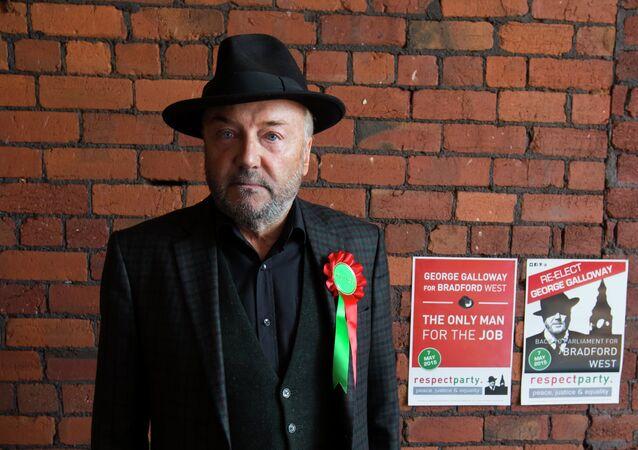 George Galloway, líder del partido Respect