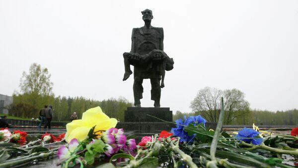 Monumento Jatín en la región de Vitebsk - Sputnik Mundo