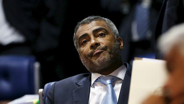 Romario da Souza Faria, exjugador de fútbol y senador del Partido Socialista de Brasil (PSB) - Sputnik Mundo