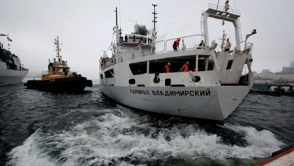 Buque de investigación oceanográfica Almirante Vladímirski - Sputnik Mundo