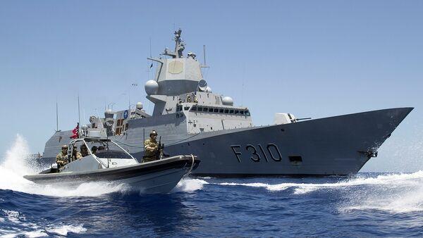 Fragata noruega Fridtjof Nansen - Sputnik Mundo