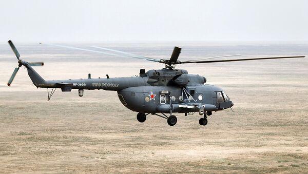 Helicóptero Mi-8 (Archivo) - Sputnik Mundo