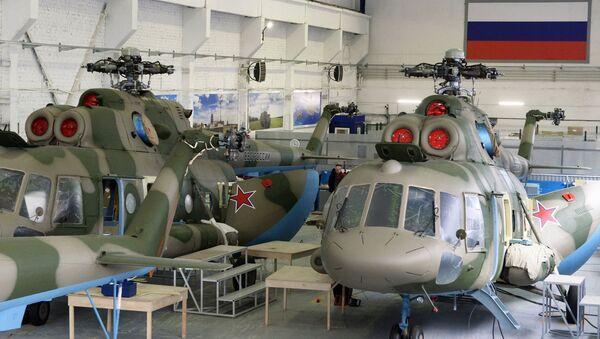 Helicópteros Mi-8 - Sputnik Mundo
