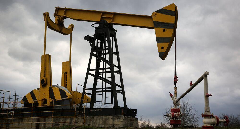 Bomba petrolífera en la región rusa de Krasnodar, Rusia