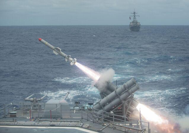 Misil antibuque Harpoon de EEUU