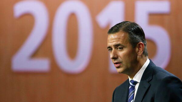 Markus Kattner, director financiero de la FIFA - Sputnik Mundo