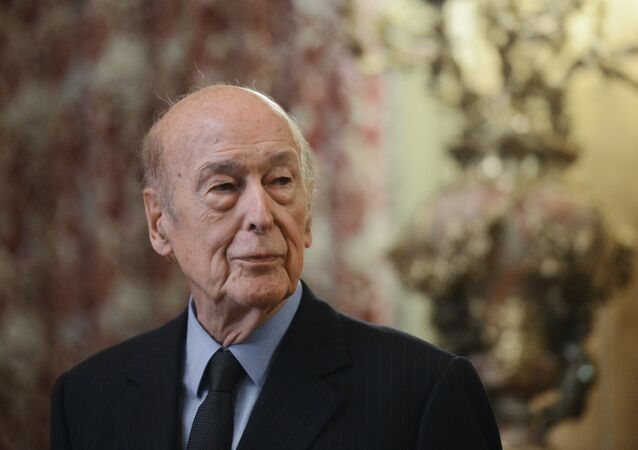 Valéry Giscard d'Estaing, expresidente de Francia