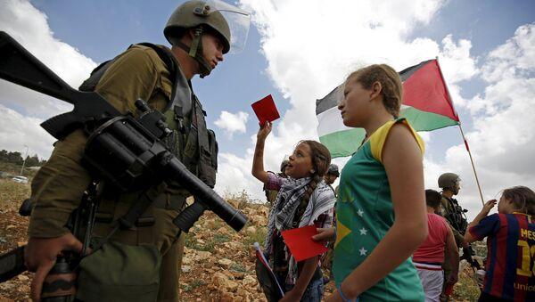 Palestinos de pedir la suspensión de Israel en la FIFA - Sputnik Mundo