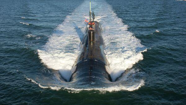 Submarino estadounidense de la clase Virginia - Sputnik Mundo