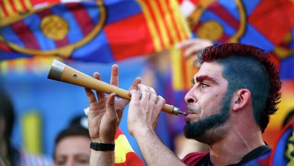 Los aficionados del Barça - Sputnik Mundo