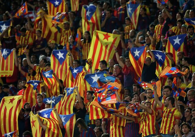 Vascos y catalanes pitan al unísono el himno español en la final de la Copa del Rey