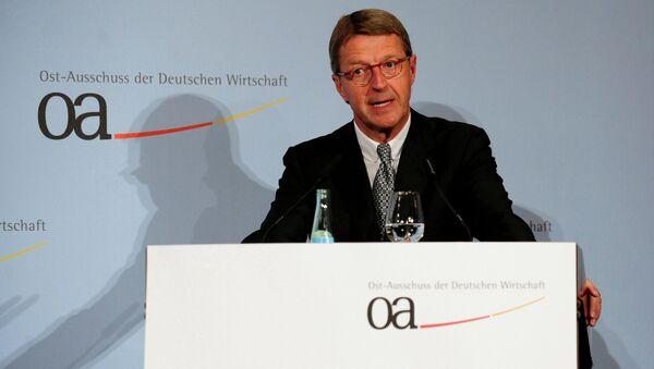 Eckhard Cordes, presidente del Comité de Alemania para las Relaciones Económicas con Europa Oriental - Sputnik Mundo