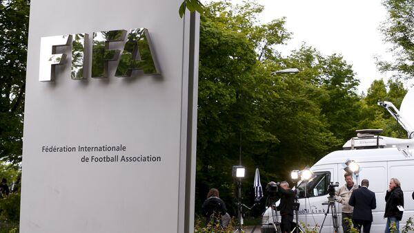 Entrada de la Federación Internacional de Fútbol - Sputnik Mundo