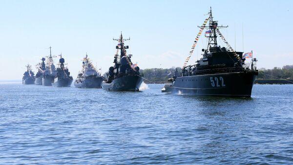 Buques de la Flota rusa del Báltico (Archivo) - Sputnik Mundo