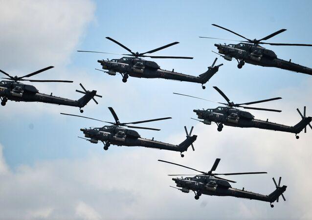 Grupo Bérkuti de alto pilotaje de helicópteros