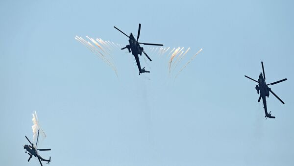 Helicópteros Mi-28  - Sputnik Mundo
