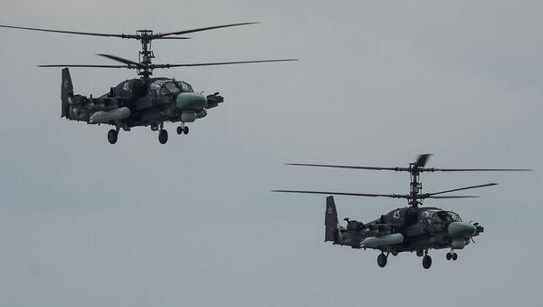 Helicópteros Ka-52 Alligator - Sputnik Mundo