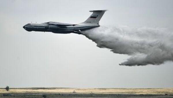 Avión ruso Il-76 - Sputnik Mundo