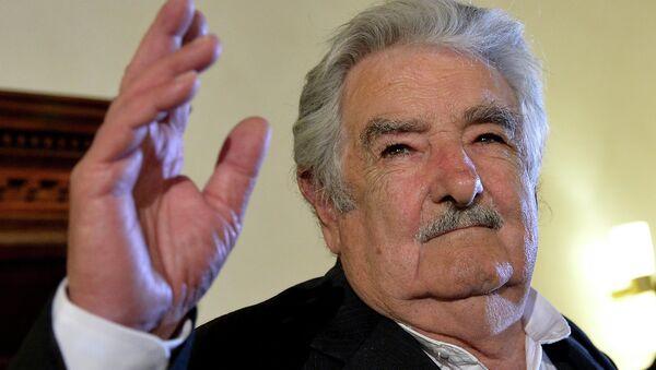 José Mujica, expresidente de Uruguay - Sputnik Mundo