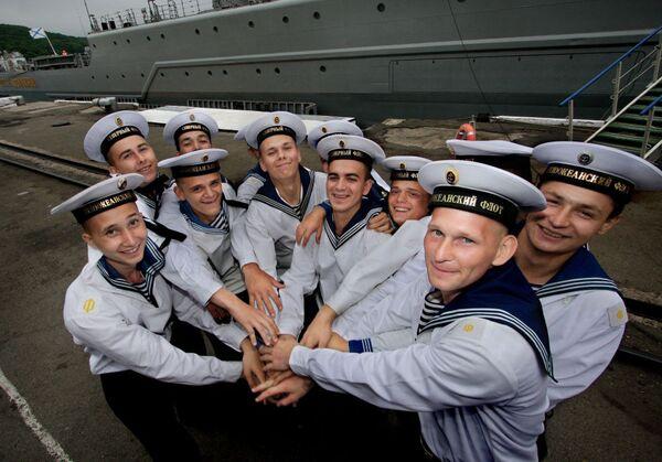 La vida cotidiana en la flota más joven de Rusia - Sputnik Mundo