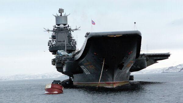 Portaviones Almirante Kuznetsov - Sputnik Mundo