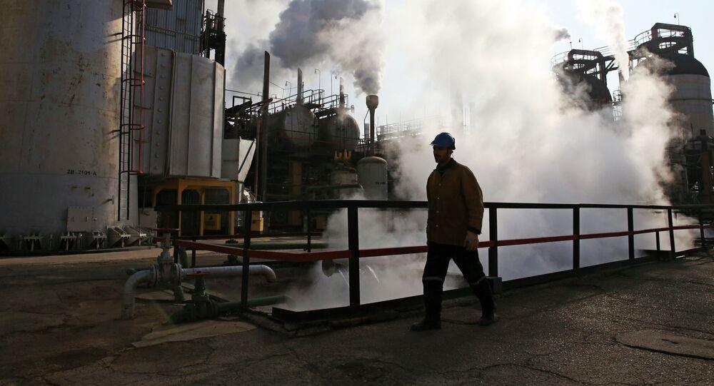 Refinería de petróleo en Irán (archivo)