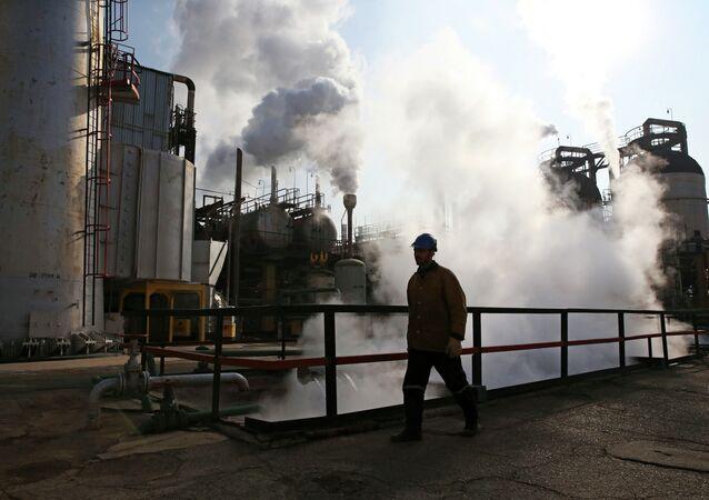 Refinería de petróleo, Irán