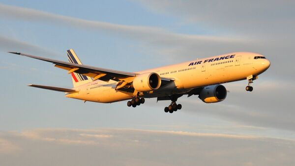 Boeing 777 de la compañía Air France (Archivo) - Sputnik Mundo