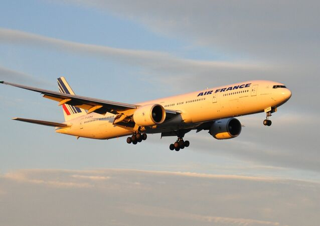 Boeing 777 de la compañía Air France (archivo)