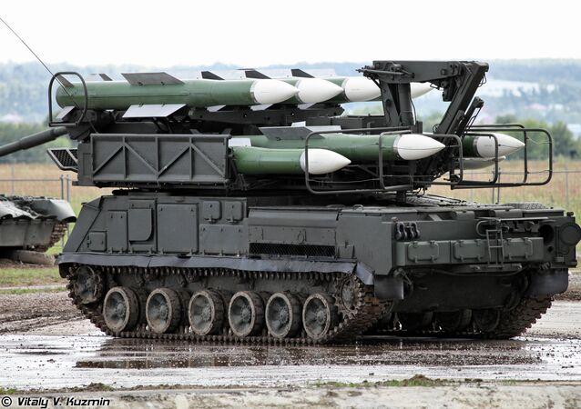 Sistema de misiles Buk-M1 (archivo)