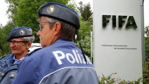 Policía de Zúrich en Congreso de la FIFA - Sputnik Mundo