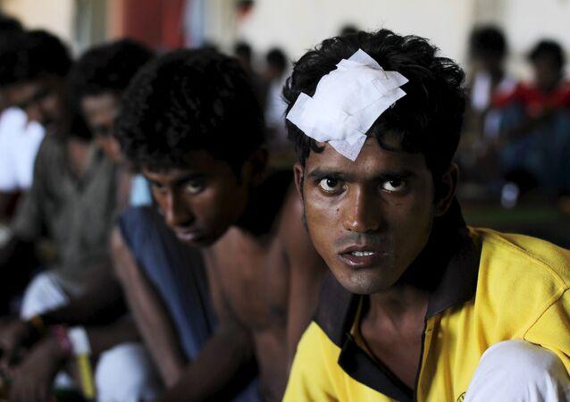 Migrantes rohingyas